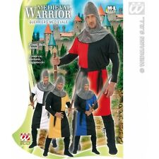 Mens MEDIEVAL WARRIOR Costume for Middle Dark Ages Fancy Dress Outfit