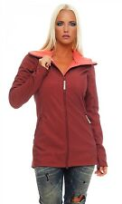 BENCH - DEN B - Rosso - Giacca Softshell Donna - Parka - NUOVO