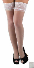 Suspenders Stockings Suspender stockings white Lace Laundry bags