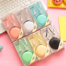 1x Earphone with Macaron Case Pouch Audio Headset Headphone In-ear #IN