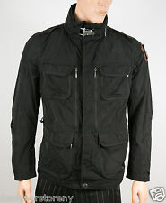 PARAJUMPERS M-DESERT 541-BLACK JACKET COAT size Large