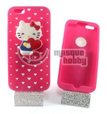 "Funda Carcasa Silicona iPhone 6G + Plus 5.5"" 6S + Hello Kitty Rosa NUEVO"