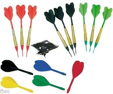 9 darts + tips 1/4 + fins for set dart electronic softip