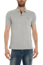 Polo Burberry Polo Shirt % Oxford Uomo Grigio 3955999-5000