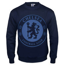 Chelsea FC Official Football Gift Mens Crest Sweatshirt Top