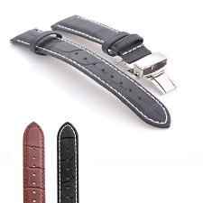 Premium Genuine Leather Watch Strap Band for Withings Activite Pop Steel