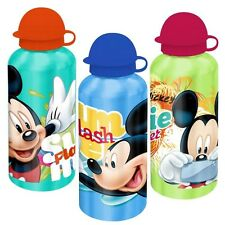 Micky Maus - Alu Trinkflasche Aluminium 500 ml Mickey Mouse - Farbauswahl