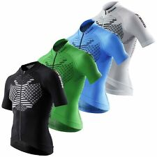 X-Bionic Biking Man Twyce Shirt Full Zip Short Sleeve Fahrradtrikot Fahrradshirt