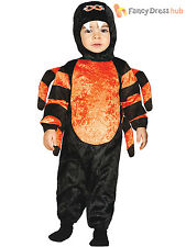 Baby Toddler Spider Costume Childs Halloween Fancy Dress Animal Infant Outfit