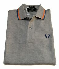 Camiseta Del Polo Suéter De Hombre Hombres Fred Perry Made in Italy 3146