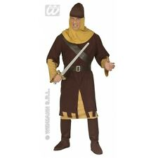 Mens MEDIEVAL SOLDIER Costume for Middle Dark Ages Fancy Dress Outfit