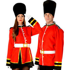 Royal Busby Guard Adults Fancy Dress National British London Uniform Costume New