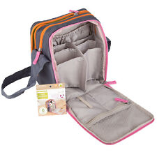 Infantino Fresh Squeezed Travel Storage Cool Bag - 6 Pockets - 24x19cm