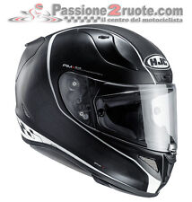 Casco integrale Hjc Rpha 11 Riberte mc5sf black racing pista corsa