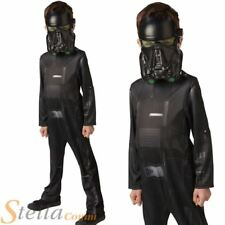 Boys Classic Death Trooper Costume Star Wars Rogue One Fancy Dress Outfit