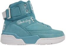 Ewing Athletics Ewing 33 HI Turquoise White Soft Teal Basketball Shoes Mens New