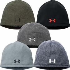 2017 Under Armour ColdGear Infrared Survivor Fleece Beanie Mens Golf Winter Hat