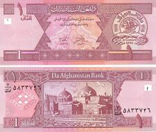 MULTI-VARIATION LISTING 4 denominations afghani banknotes of Afghanistan UNC