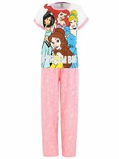 Disney Princess Womens Pyjamas | Cinderella Ariel Belle Jasmine Pyjama | NEW