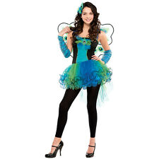 Teen Peacock Diva Costume for Bird Fancy Dress Outfit