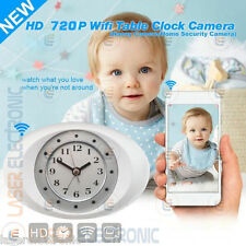 SVEGLIA OROLOGIO IP CLOCK CAM TELECAMERA WIFI 3G CAMERA MOTION DETECTION