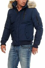 Tommy Hilfiger Denim Technical Bomber Jacke Winterjacke Navy S M L XL XXL