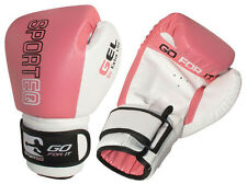 Sporteq Mujer Rosa Profesional Boxeo,Entrenamiento Guantes Sparring