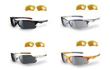 SUNWISE TWISTER GOLF/CICLISMO/CRICKET/TRIATHLON OCCHIALI DA SOLE (3 LENTI)