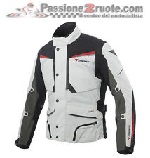 Giacca Dainese Sandstorm Glacier gray black red Goretex moto jacket