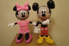 DISNEY INFLABLE PERSONAJES GRANDE OFICIAL MINNIE MOUSE - MICKEY MOUSE
