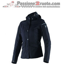 Giacca moto scooter donna Dainese Elysee D1 d-dry nero impermeabile 4 stagioni