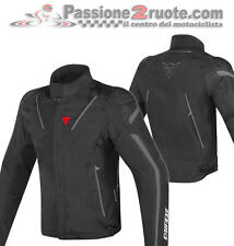 Giacca moto Dainese Stream Line d-dry nero impermeabile 4 stagioni sport touring