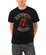 The Rolling Stones T Shirt Tour 78 vintage Tongue Official Mens Black