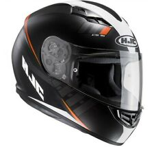 Hjc Cs15 Cs-15 Space Mc7sf Mc-7sf nero arancione black orange