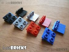 8 x NEW LEGO Hinge Bricks 2x2 Top Plate (Part 6134) + SELECT COLOUR + FREE POST