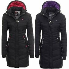Geographical Norway Carless Winter Mantel Jacke Coat Parka Steppmantel