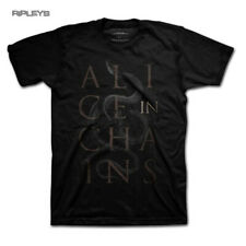 Official T Shirt ALICE IN CHAINS Black Alice SNAKE Logo All Sizes