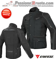 Dainese D-explorer negro Gore-tex moto chaqueta impermeable y respirable