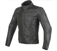 Moto leather jacket Dainese Bryan black
