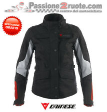 Chaqueta de motociclista mujer Dainese 500 Gt D-dry señora negro impermeable