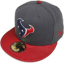 New Era NFL Houston Texans Ballistic Visera Cap 59fifty Gorra Béisbol Ajustada