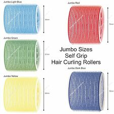Large Jumbo Sized Hair Rollers SELF GRIP Cling Curling Waving ALL SIZES STOCKED