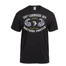 BLACK INK Distressed US ARMY 101st AIRBORNE AIR ASSAULT Brothers Forever