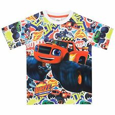 Blaze and the Monster Machines T-Shirt | Boys Blaze Tee | Blaze Top | NEW