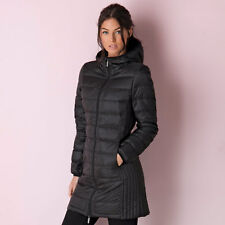Womens Elle Yves Down Coat In Black From Get The Label