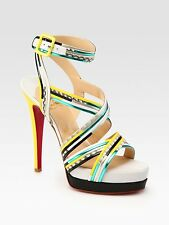 Christian Louboutin Meteorita Heels Sandals Shoes Pumps NEW BNIB UK 4.5 EU 37.5