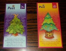 * ISLE OF MAN STAMP BOOKLETS CHRISTMAS TREES 2006  - CHOOSE BOOKLET