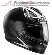 Casco integrale moto Hjc Fg-17 Valve MC5 nero bianco black white