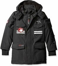 NEW Canada Weather Gear Youth Boys Triple Goose Heavy Jacket Black CHOOSE SIZES