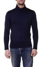 I'M C Couture Sweater Pullover -50% Herren MADE IN ITALY Blau 4315802-